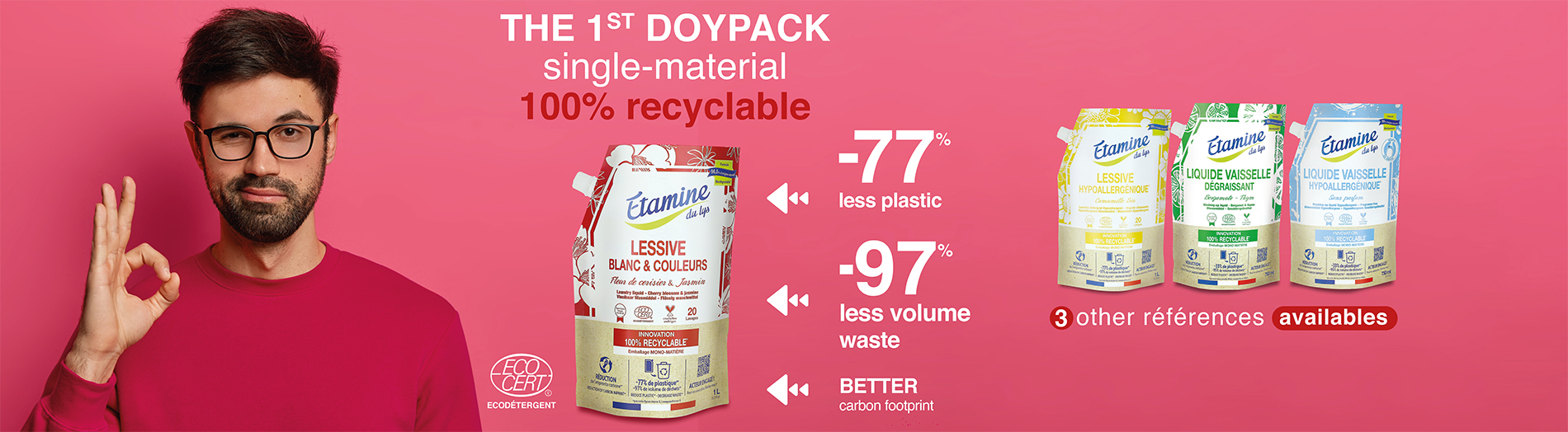 doypack 100% recyclable