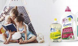 maison propre et saine avec Etamine du lys