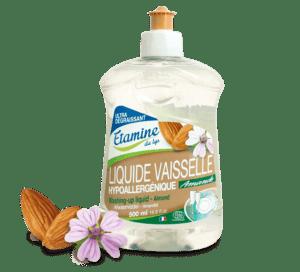 Liquide vaisselle hypoallergénique amande 500 ml Etamine du lys