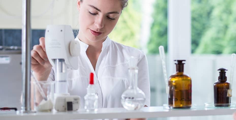 Etamine du lys, des produits d'entretien écologiques efficaces.